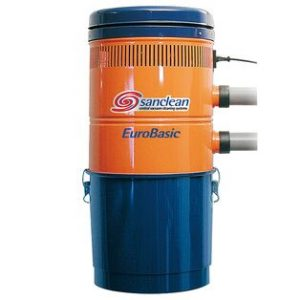 Sanclean central vacuum cleaner and accessories
